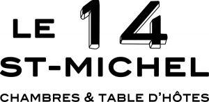 le 14 saint michel josselin maison d'hotes logo