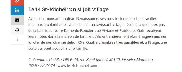 le 14 saint michel le figaro magazine