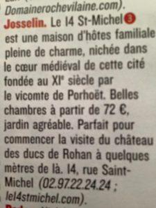 le 14 saint michel le figaro magazine article