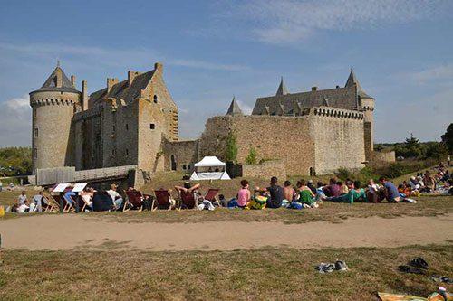 le 14 saint michel chateau de suscinio vue